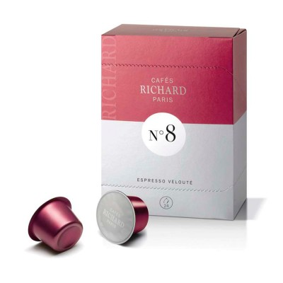 Кафе Ришар еспресо велюте - капсули N8