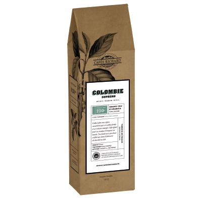 Кафе на зърна Колумбия Supremo - 250 гр.