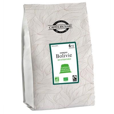 Кафе капсули за Nespresso® - Еспресо Боливия - 50 бр.