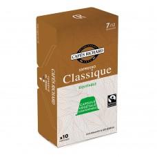 Кафе капсули за Nespresso® - Еспресо Класик - 10 бр.