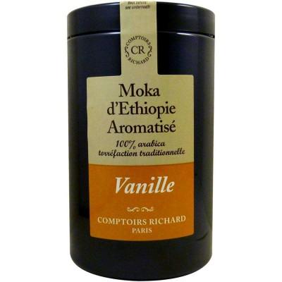 Мляно кафе Мока Етиопия с аромат на ванилия - 125 гр.