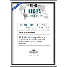 Безкофеиново кафе на зърна Ришар - 500 гр.