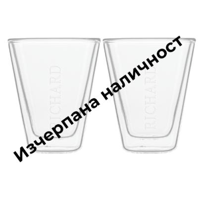 Двустенни чаши за кафе - 85 мл.