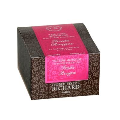 Черен чай горски плодове - 15 бр.