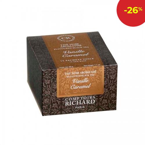 Черен чай ванилия и карамел- 15 бр.