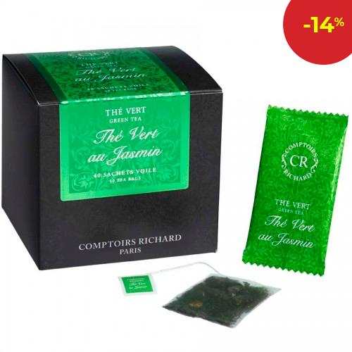 Зелен чай жасмин